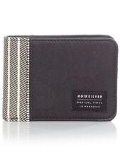 Quiksilver Faux Leather Bifold Wallets for Men