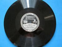 EDISON RECORD 80 RPM Tomorrow Land/Down In Midnight Town No. 50897