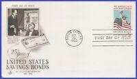 USA3 #1320 U/A ARTCRAFT FDC   Savings Bond - Servicemen