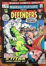 Marvel Feature #3 (Marvel,1972) 3rd app DEFENDERS Dr. Strange Hulk Namor  (VG)
