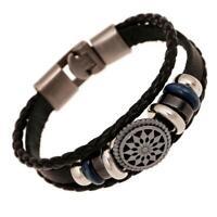 Armband Bracelet Surfer Style Neu Kunstleder Unisex Herren Frauen Männer