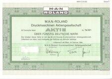 M.A.N. Roland Druckmaschinen AG  1984  Offenbach
