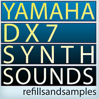 Yamaha DX7 Samples Propellerheads Reason Refill Synth Keyboard Sounds CD-ROM DVD