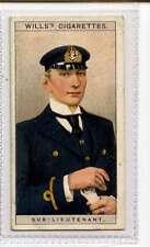 (Jk835-100) Wills,Naval Dress & Badges, Sub-Lieutenant ,1909 #18