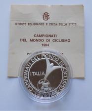 Medaglia in argento Campionati del Mondo di Ciclismo Sicilia 1994