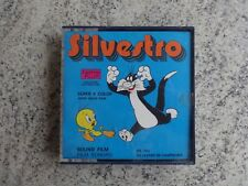 Film in super 8 - SILVESTRO - film a colori sonoro con GATTO SILVESTRO