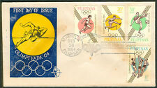 1964 Philippines OLIMPIYADA 1964 First Day Cover