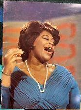 Ella Fitzgerald: 1966 Concert Souvenir Program