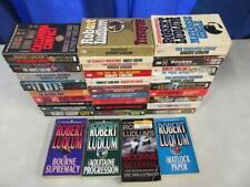 BIG Lot of (32) ROBERT LUDLUM Spy Thriller Books JASON BOURNE COVERT ONE SERIES