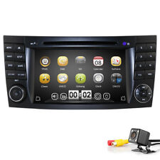 Car in Dash DVD Stereo DAB+Radio GPS SAT fit Mercedes-Benz E/CLS Class W211 W219