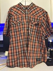 Harley Davidson Mens 5XL Button Shirt