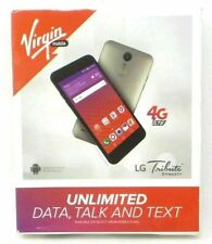 LOT OF 6 Virgin Mobile LG Tribute Dynasty Prepaid Cell Phone