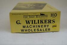 Ho/Hon3 Scale Fine Scale Miniatures Kit #255 G. Wilikers Machinery Wholesaler