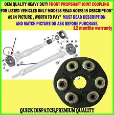 FOR BMW 1 / 3 / 5 / 6 / 7 X3 FRONT PROPSHAFT COUPLING JOINT MOUNT HEAVY DUTY