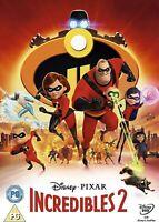 Incredibles 2 [DVD] - Movie/Film - Disney Pixar - 2018 - R2 - NEW & SEALED