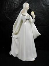 "Royal Doulton "" Bride "" Girl Figurine - Absolutely Beautiful"