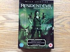 Resident Evil Outbreak Pack Dvd Boxset! Look At My Other Dvds!