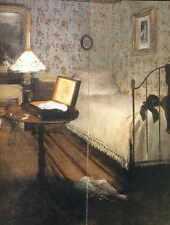 Signe Métallique 1868 1869 Edgar Degas le luth détail le mobilier A4 12x8 aluminium