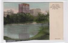 NETHERLAND & SAVOY HOTELS FROM CENTRAL PARK: New York USA postcard (C30223)