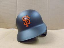 San Francisco Giants Matte Black Left Flap Rawlings Authentic MLB Batting Helmet