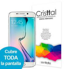 Sentete® Samsung Galaxy S6 Edge Protector Pantalla 3D Cristal Templado PREMIUM