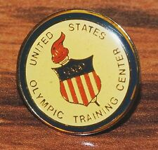 """United State Olympic Training Center"" Round Circular Collectible PinBack Brooch"