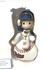 Precious Moments Minnesota Twins Baseball Ornament Boy I Have A Ball With You