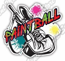 "Paintball Gun Rifle Extreme Sports Car Bumper Window Vinyl Sticker Decal 4.6"""