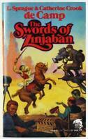 Swords of Zinjaban by L. Sprague de Camp 1991, Baen Fantasy Paperback