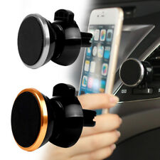 360° Rotation Car Mount Cell Phone Holder GPS Stand Cradle Magnetic Outlet Clip