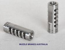 MUZZLE BRAKE VENDETTA STAINLESS 1/2''X28 THREAD .22 CALIBRE 223,22-250