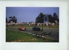 Tony Brooks Vanwall Italian Grand Prix 1957 Signed Photograph 1