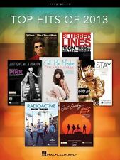 Hal Leonard Top Hits Of 2013 for Easy Piano
