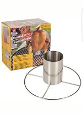 BARBECUE BBQ BEER CAN CHICKEN ROASTER VERTICAL CHICKEN GRILL COOK STAND HOLDER