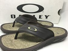 30de1e795ed Oakley SuperCoil 4 Slide Men s Sandals 101330DM-851 Size 9 BROWN NEW IN Box