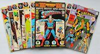 SUPERMAN # 241, 242, 244-251: DC Comics Bronze Age Lot. FINE