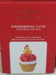 2020 Hallmark Gingerbread Cutie Christmas Cupcakes Ornament