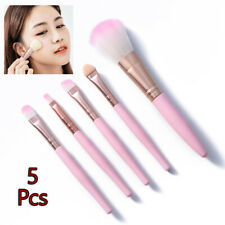 5Pcs Women Makeup Brush Set Beauty  Eye Shadow Lip Brushes Blush Cosmetics Kit