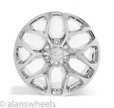 "4 NEW Chevy Silverado Avalanche Chrome 20"" Wheels Rims Lugs Free Shipping 5668"