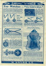 "1909 Advertisement Peanut Vending Machine Glass Globe 18"" High"