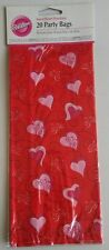 Wilton Sweetheart Bandana Party Bags 20 Pieces - Brand NEW