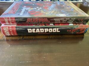 Deadpool Omnibus Lot, Beginnings, Minibus 2, Vol's 1&2, Hardcover, Marvel Set!