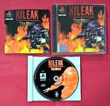 Kileak The Blood  - PSX - PS1 - PLAYSTATION - USADO - EN BUEN ESTADO
