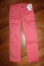 NWT Gymboree Snowflake Glamour Size 6 Pink Silver Sparkle Dot Pants