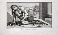 Rom Antike Gladiator Fechter Kolosseum Kämpfer Gladio Horn Tod Verletzung Akt