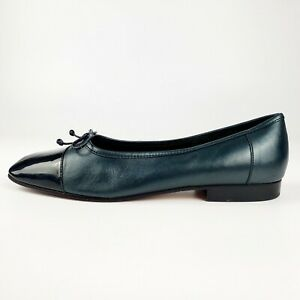 Enzo Angiolini Women's Shoes Liberty Leather Loafers Teal Size 7.5 M