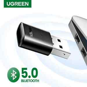 Ugreen USB Bluetooth 5.0 Wireless Dongle Adapter Receiver for PC - Black