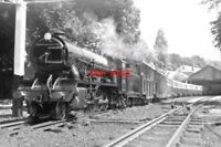 PHOTO  HYTHE STATION & LOCO ROMNEY HYTHE & DYMCHURCH RAILWAY (RH&DR)