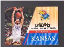 2013 Upper Deck Kansas #56 Scot Pollard Mint Jayhawks KU Basketball Rock Chalk