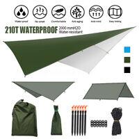 3M Hammock Rain Fly Cover Waterproof Tent Tarp Portable Camping Tarp Shelter